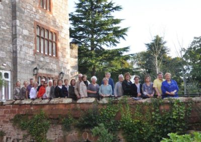 England, Scotland and Wales Group at Ruthin Castle, Wales